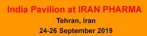 India Pavilion at IRAN PHARMA